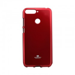 Kryt jelly Mercury pre Huawei Y6 2018 červený.
